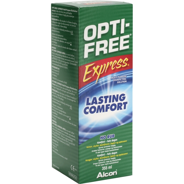 Opti-Free Express NoRub 355ml - Alcon.