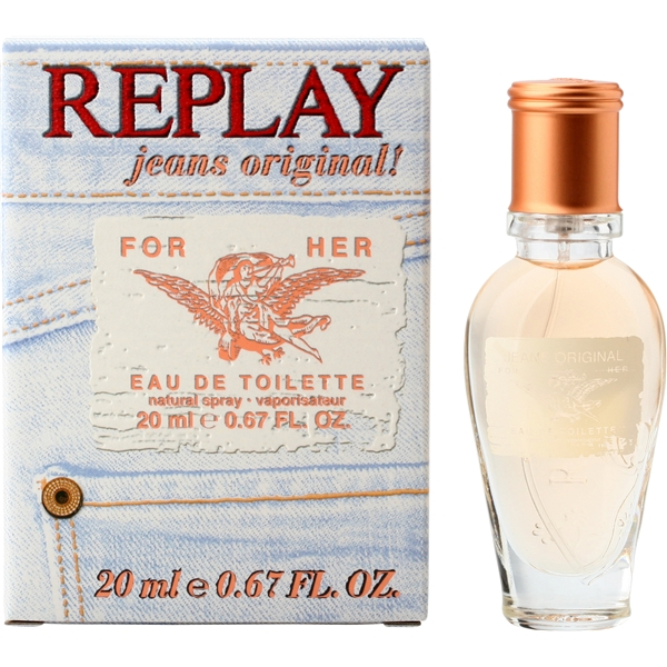 Replay Jeans Original For Her - Edt Spray - Replay