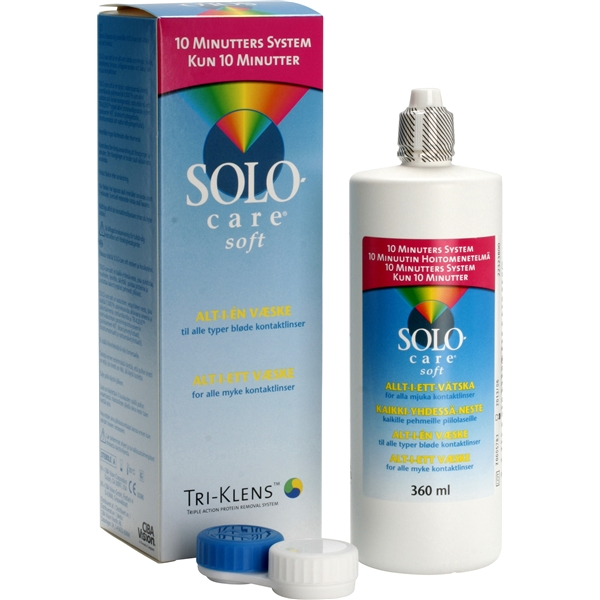 SoloCare Soft 360ml - Alcon