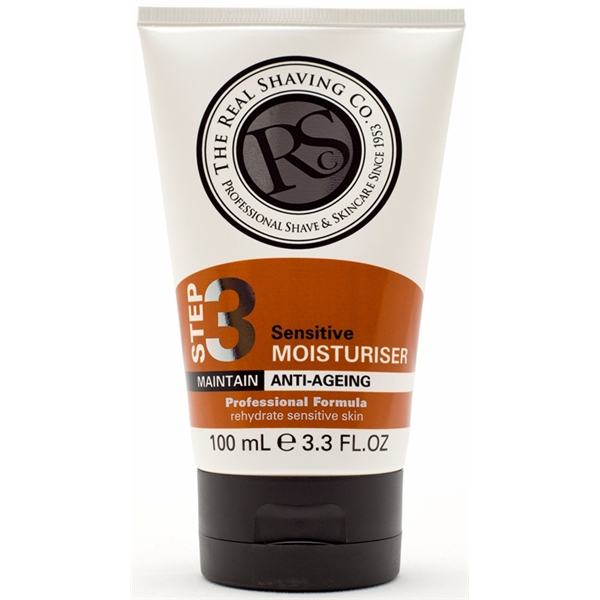 Step 3 Sensitive Moisturiser - The Real Shaving Company
