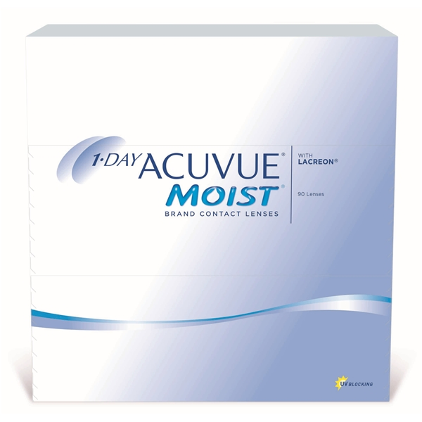 1-Day Acuvue Moist 90p - Johnson & Johnson