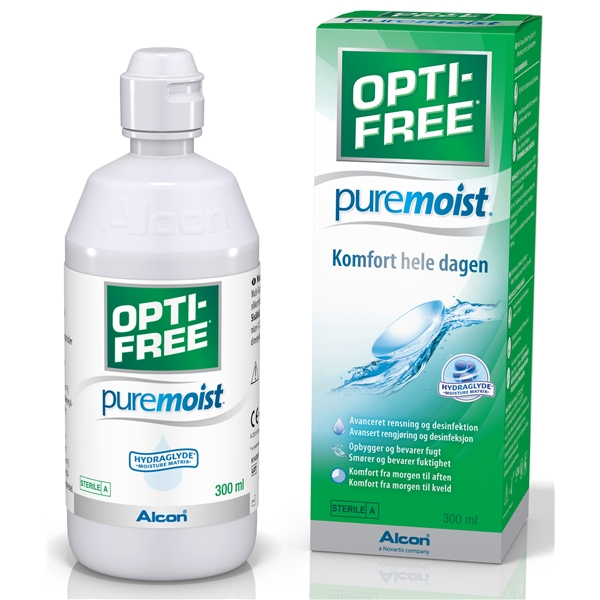 Opti-Free Puremoist 300 ml - Alcon.