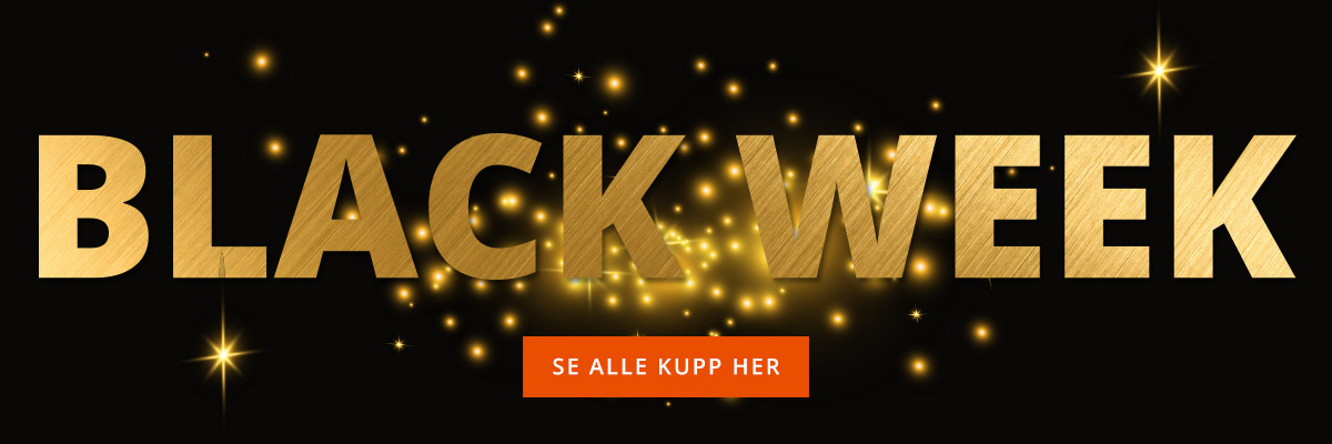 Black Week! Se alle kupp her!