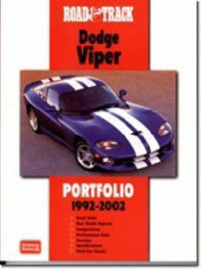 """Road and Track"" Dodge Viper Portfolio 1992-2002 - R. M. Clarke"