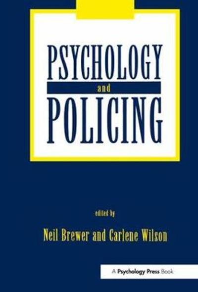 Psychology and Policing - Neil Brewer