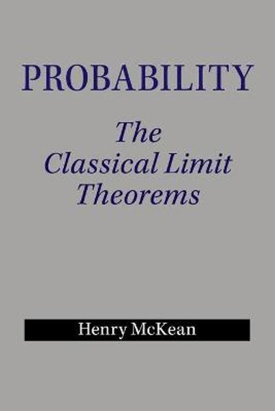 Probability - Henry P. McKean