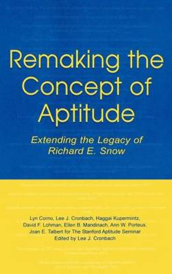 Remaking the Concept of Aptitude - Joan E. Talbert