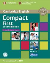 Compact First Student's Book without Answers with CD-ROM - Peter May
