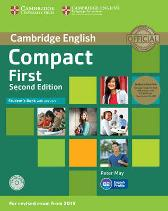 Compact First Student's Book Pack (Student's Book with Answers with CD-ROM and Class Audio CDs(2)) - Peter May