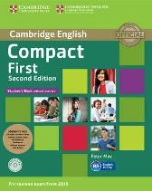 Compact First Student's Pack (Student's Book without Answers with CD ROM, Workbook without Answers with Audio) - Peter May