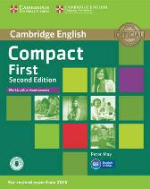 Compact First Workbook without Answers with Audio - Peter May
