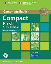 Compact First Workbook with Answers with Audio - Peter May