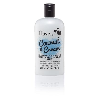 Coconut & Cream Bath & Shower Crème - I Love...