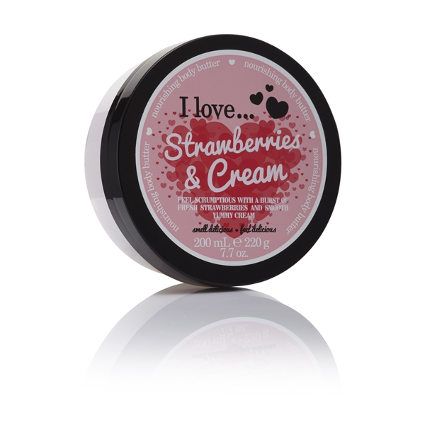 Strawberries & Cream Body Butter - I Love...