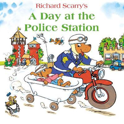 A Day at the Police Station - Richard Scarry