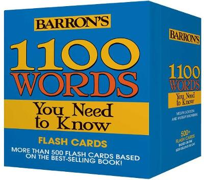 1100 Words You Need to Know Flashcards - Melvin Gordon