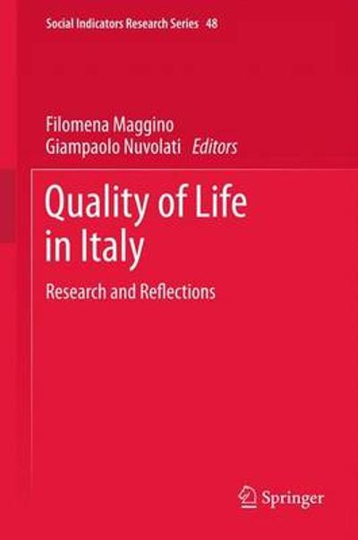 Quality of life in Italy - Filomena Maggino