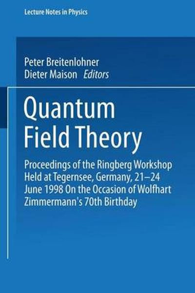 Quantum Field Theory - Peter Breitenlohner