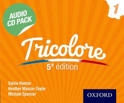 Tricolore Audio CD Pack 1 - Sylvia Honnor