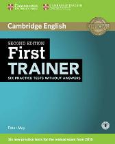 First Trainer Six Practice Tests without Answers with Audio - Peter May