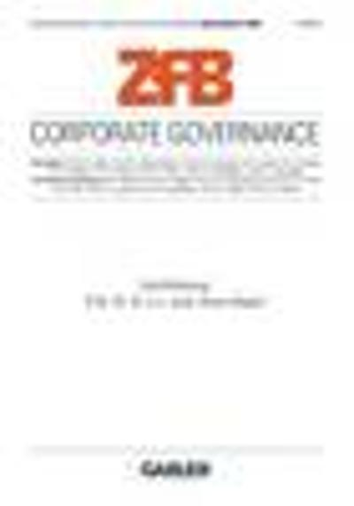Corporate Governance - Horst Albach