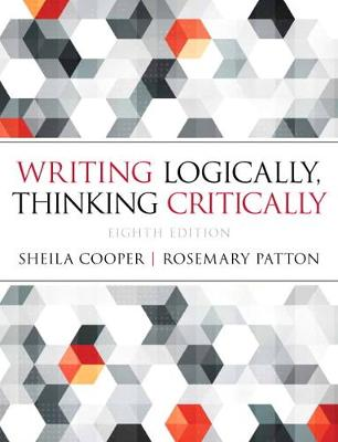 Writing Logically Thinking Critically - Sheila Cooper