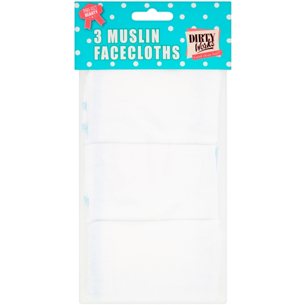 Muslin Facecloths - Set - Dirty Works