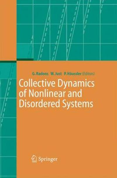 Collective Dynamics of Nonlinear and Disordered Systems - Gunter Radons