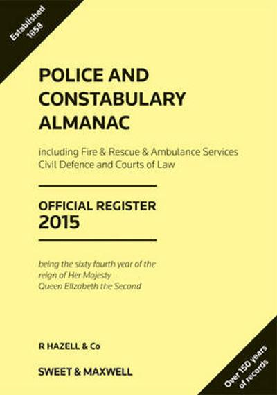 Police and Constabulary Almanac 2015 -