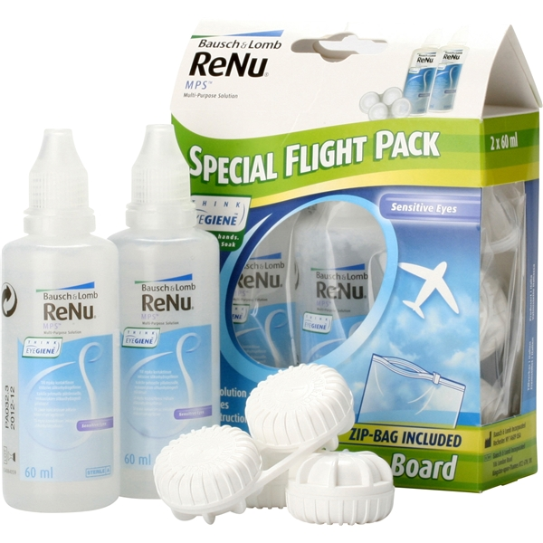 ReNu Multipurpose - Special Flight Pack 2x60ml - Bausch & Lomb