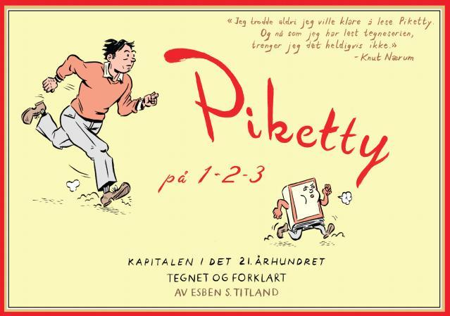 Piketty på 1-2-3 - Esben S. Titland