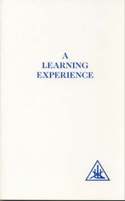 A Learning Experience - 