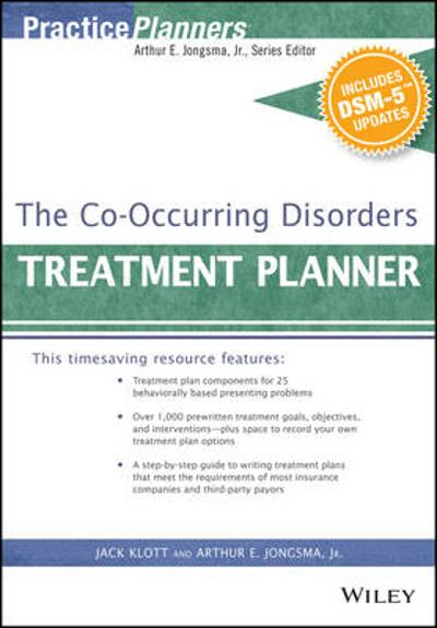 The Co-Occurring Disorders Treatment Planner, with DSM-5 Updates - Arthur E. Jongsma