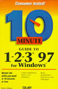 10 Minute Guide to 1-2-3 for Windows 95 - Que Development Group