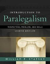 Introduction to Paralegalism - William Statsky