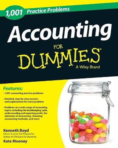 1,001 Accounting Practice Problems For Dummies - Kenneth W. Boyd