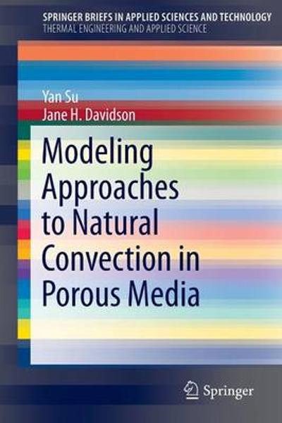 Modeling Approaches to Natural Convection in Porous Media - Yan Su