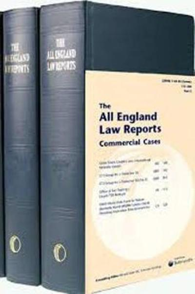 All England Commercial Cases Volume Set 1999 to date -