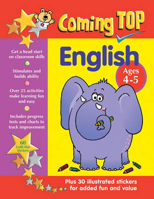 Coming Top: English - Ages 4 - 5 - Alison Hawes