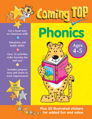 Coming Top: Phonics - Ages 4 - 5 - Louisa Somerville