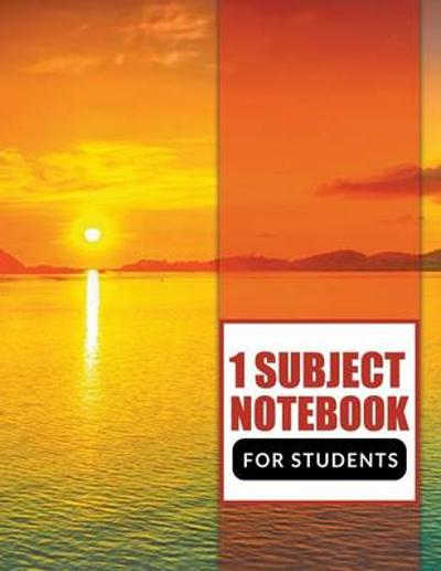 1 Subject Notebook For Students - Speedy Publishing LLC