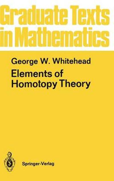 Elements of Homotopy Theory - George W. Whitehead