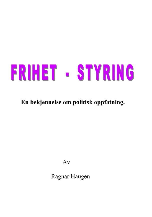 Frihet, styring PDF ePub
