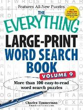 The Everything Large-Print Word Search Book, Volume 9 - Charles Timmerman