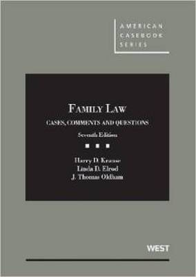 Family Law - Harry D. Krause