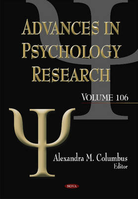 Advances in Psychology Research - Alexandra M. Columbus