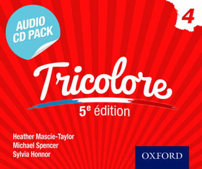 Tricolore Audio CD Pack 3 - Heather Mascie-Taylor