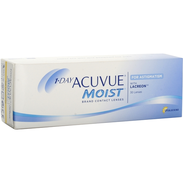 1-Day Acuvue Moist for Astigmatism - Johnson & Johnson