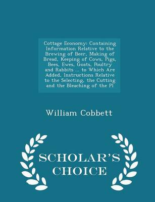 Cottage Economy - William Cobbett