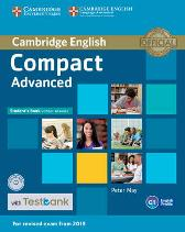 Compact Advanced Student's Book without Answers with CD-ROM with Testbank - Peter May